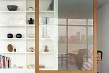 Estanterías / Estanterías originales diseñadas en diferentes materiales y para diferentes soluciones.