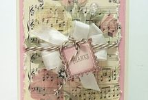 Shabby chich card / www.gingercrafter.com