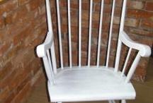 krzesła bujane