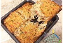 Receitas saudáveis / Torta de frango fit