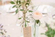 Wedding & co / Décoration de table, thème