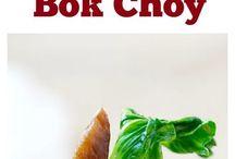 Garlic mushrooms & Bok choy
