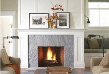 Fireplaces / by Kathy Skomoroh McMonagle