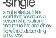 Happy being single