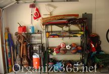 Organization - Garage/Car / Ideas for garage storage. Storage organization in the car and garage will help you get out the door on time and with everything you need in one trip. / by Lisa @ Organize 365