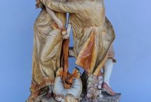 Ernst Wahliss porcelain figurines