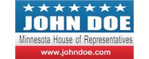 Political Banners, Signs and Decals | Banners.com / Political Banner Templates, Political Yard Sign Templates and Campaign Sticker Templates