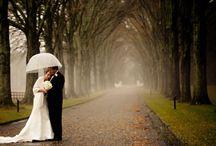 Regnvejrs bryllup / Hvad gør vi hvis det regner? Det spørgsmål får jeg tit, heldigvis behøver det ikke at være et problem.