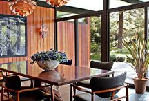 Lighting Mid Century Modern / We are a design-focused building consultancy, based in Melbourne, Australia. We are passionate about quality residential design. We collect 20th Century chairs. We champion mid century modern architecture with an irregular blog. Follow us on https://www.facebook.com/SecretDesignStudio or twitter @Secret_Design. www.secretdesignstudio.com / by Secret Design