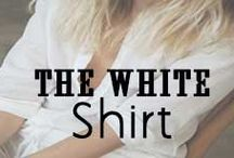 The White Button Down Shirt / Ways to Wear the Classic White Button Down Shirt: Street Style // http://www.missesdressy.com/blog/spring-style-staple-the-white-button-down-shirt.html / by MissesDressy
