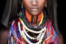 Parures Ethniques / Parures Omo d'Ethiopie... et d'autres à venir