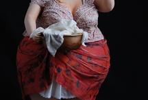 vrouw met pan