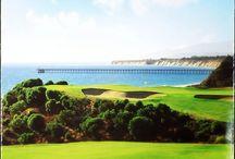 Golfing in Santa Barbara / Time to tee-up and head out to Santa Barbara's championship golf courses! / by Santa Barbara