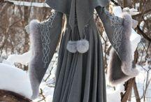 Costume, medieval, viking, fantasy