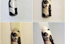 няшки на ногтях