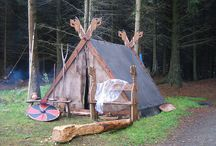 Viking camp