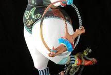 Sculpture  (Cold Porcelain)