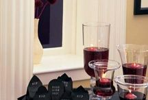 37 klassische rote und schwarze Halloween-Ideen
