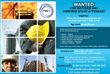 Wanted Fire watcher and Confined Space Attendant