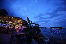 Seaside Wedding / Wedding dinner sea - theme
