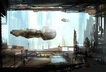 "Environment"" Sci Fi"