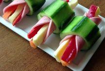 Zelenina jako závitek