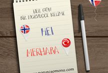 Her gün bir yeni Norveççe Kelime