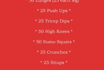 WORKOUTS / Boot Camp type ideas