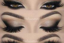 make olhos