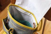 Harmaa -laukku