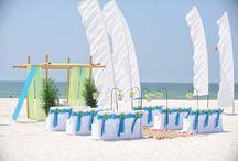 An Ocean Blue and Lime Beach Wedding / Big Day Weddings, Ocean Blue and Lime wedding theme, Orange Beach Alabama, Gulf Shores Alabama, Gulf Coast Weddings, Alabama Beach Weddings, Beach Weddings, Color Schemes, Wedding Themes