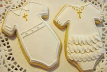 Baby Themed Cutout Cookies