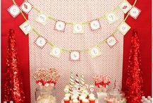 Xmas dessert table