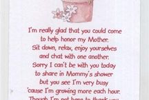 Baby shower for bubba bond / by Bobby-Lee Griffiths