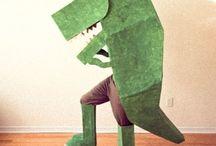 smoko the dragon costume