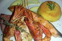 Piatti di Pesce / Le specialità di pesce preparate dallo chef di Rendez Vous