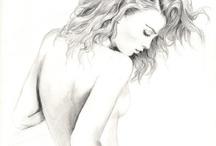 dibujos a lapiz / by Talia Matt