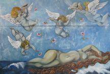 Oil paintings of Artist Suna Boyaci / Oil painting