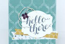 Handmade Cards- SU- Hello There / Hostess - Hello There