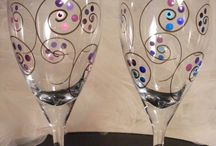 Wine glasses / DYI