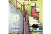 Crafting / Renovation Cosy Murder Books / Reading for pure pleasure/ escapism