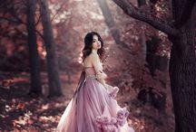 Платья облака | Девушки