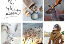 Live in the moment / Moodboard inspiration