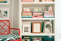 Bookshelf Styling  / by samantha f.