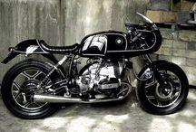 Cafe racer / Motorsykkel