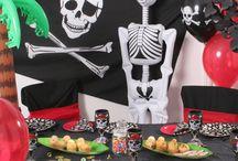 Pirat festartikler / Alt til din pirat fest, pirat udklædning, pirat fødselsdag.