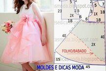 vestidos para netinhas / moda infantil