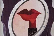 Retro beauty posters /  Touch of retro!  #retroposters #retrobeauty #voguecovers #vintagefashionmagazine #vintagecosmetics