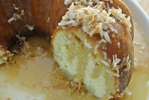 Recipes - Desserts - cakes and sweet breads / by Tara Thornberry