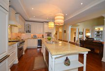 Spaces: Gorgeous Granite / Out with the OLD and in with the NEW...Gorgeous Granite. Custom, stylish, sleek & modern.